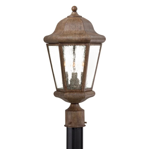 Taylor Court Outdoor 3-Light Lantern Head by Great Outdoors by Minka