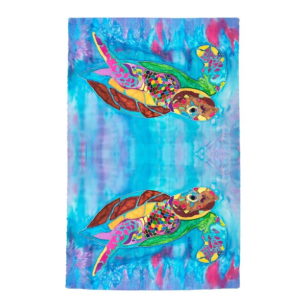 Turtle Time Beach Towel by Live Free