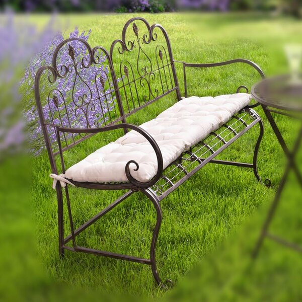 Provence Metal Garden Bench by Pier Surplus