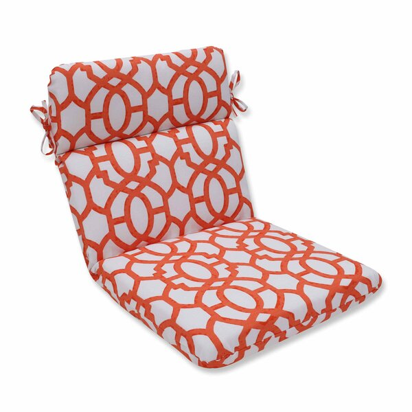 Nunu Geo Indoor/Outdoor Dining Chair Cushion By Pillow Perfect