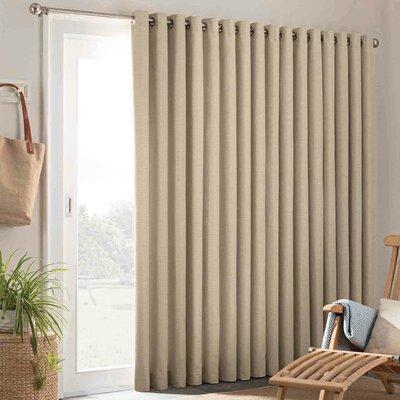 Amy Patio Door Indoor Outdoor Single Curtain Panel