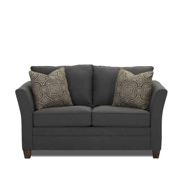 Weekend Promotions Muldoon Sleeper Loveseat by Darby Home Co by Darby Home Co