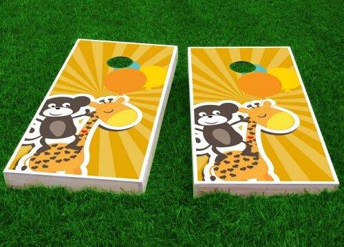 Kids Theme Cornhole Game (Set of 2) by Custom Cornhole Boards