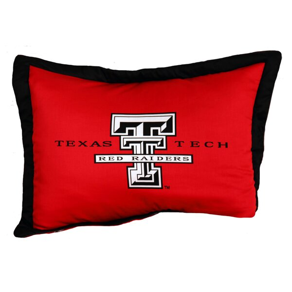 NCAA Texas Tech Pillow Sham by College Covers