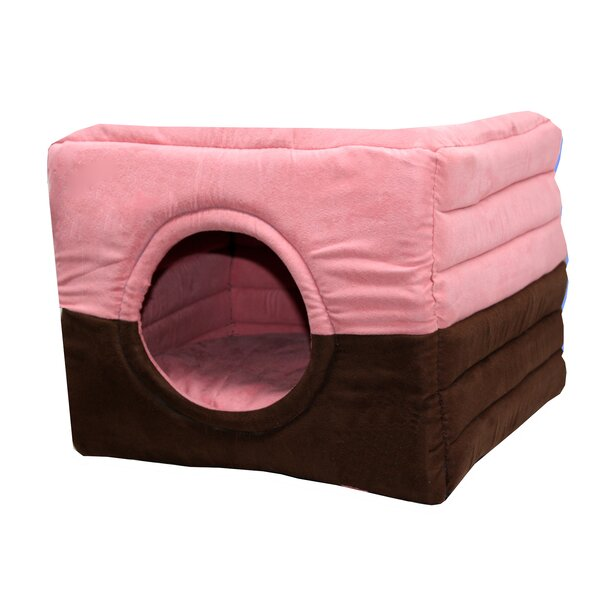 Safe House 2 in 1 Dog and Cat Bed by Hip Doggie