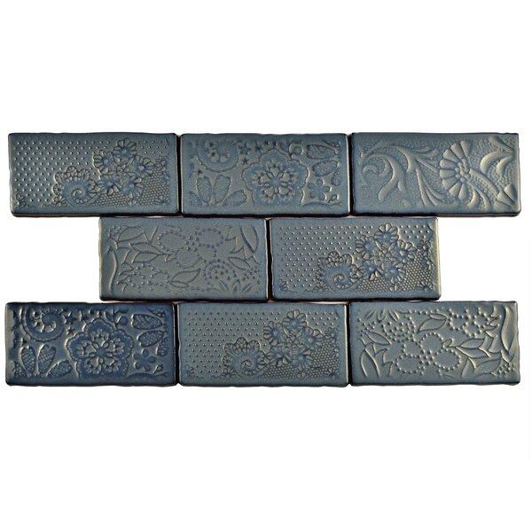 Antiqua 3 x 6 Ceramic Subway Tile in Feelings Griggio by EliteTile