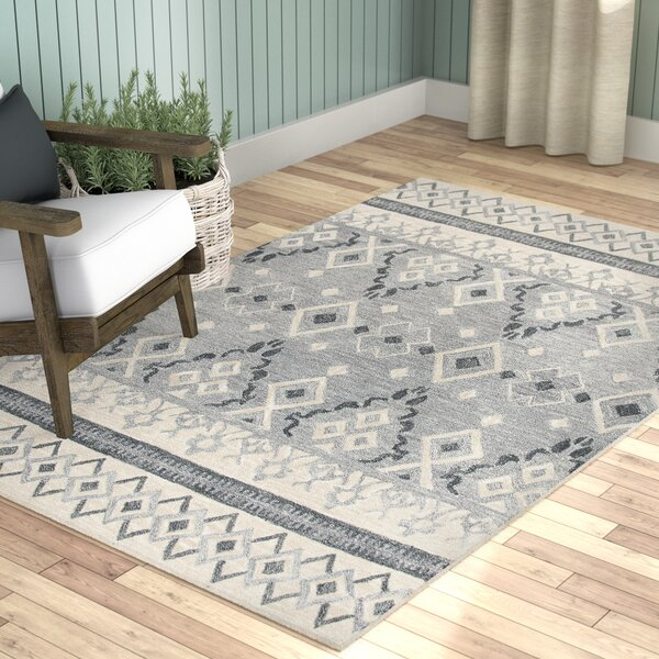 Sorensen Hand-Tufted Natural Wool Area Rug by Laurel Foundry Modern Farmhouse