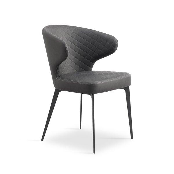 Shinkle Upholstered Dining Chair (Set of 2) by Orren Ellis Orren Ellis