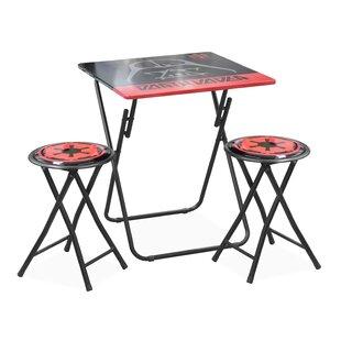 Charmant Kids 3 Piece Folding Table And Stool Set