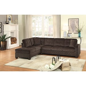 Tchantches Reversible Sectional  sc 1 st  Wayfair : leather sectional couches - Sectionals, Sofas & Couches