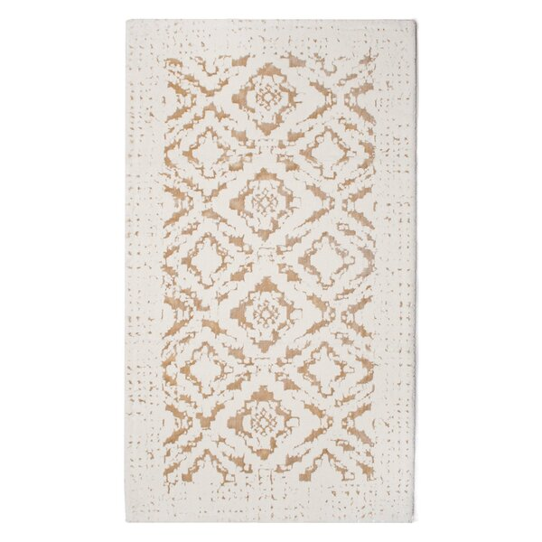 Kayson Artifaq Mauro Beige Area Rug by Bungalow Rose