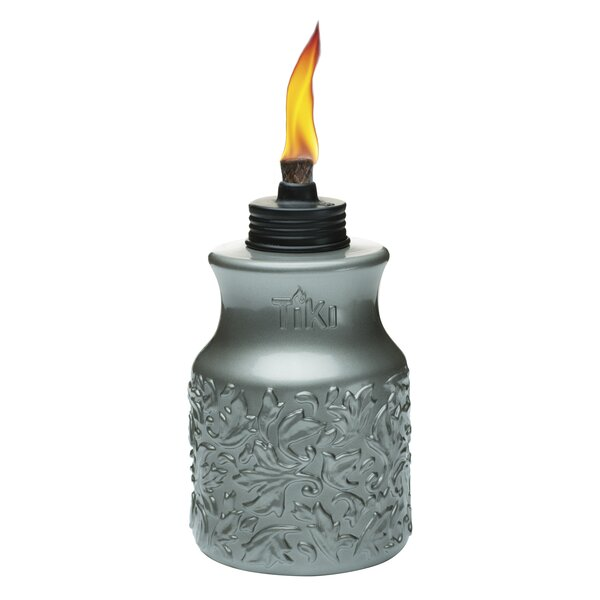 Baroque Barrel Tabletop torch by TIKI Brand