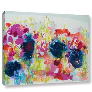 July Heat Painting Print on Wrapped Canvas by Latitude Run