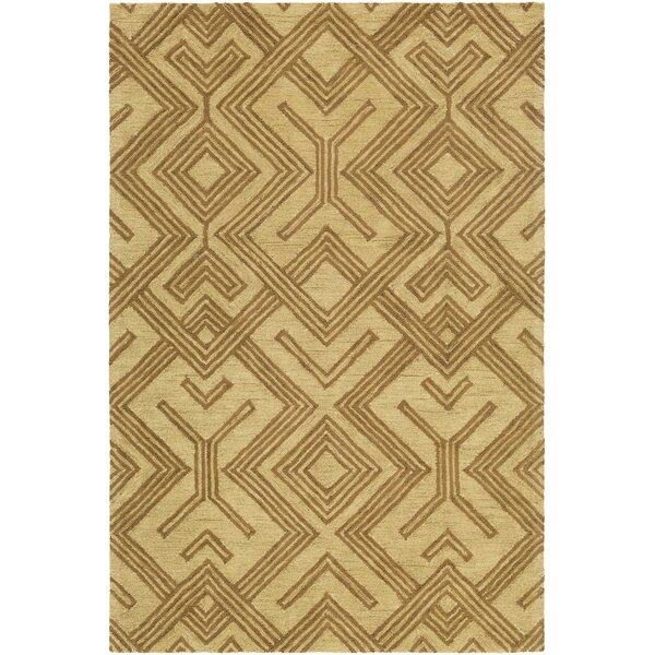 Litwin Hand-Tufted Taupe/Beige Area Rug by Union Rustic