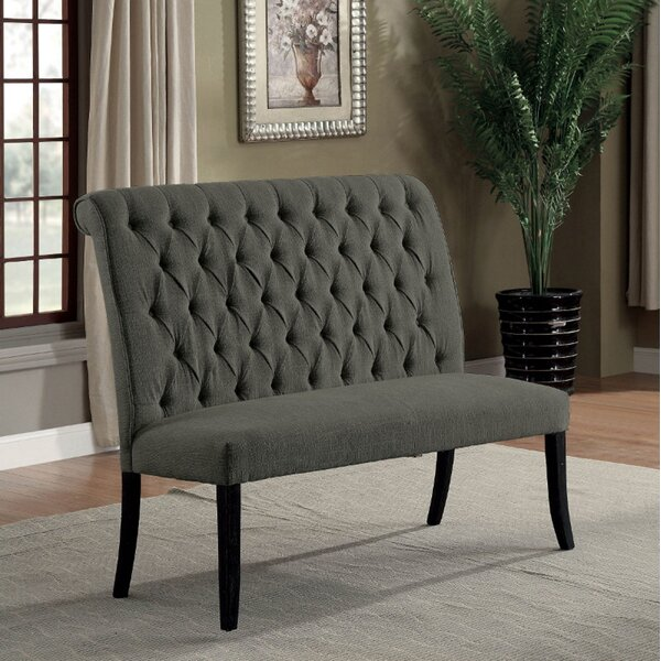 Fatima Upholstered Bench by Alcott Hill Alcott Hill