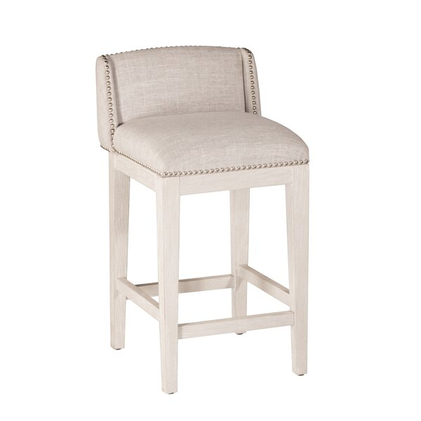 Lockhaven 26'' Bar Stool (Set of 2) by Rosecliff Heights