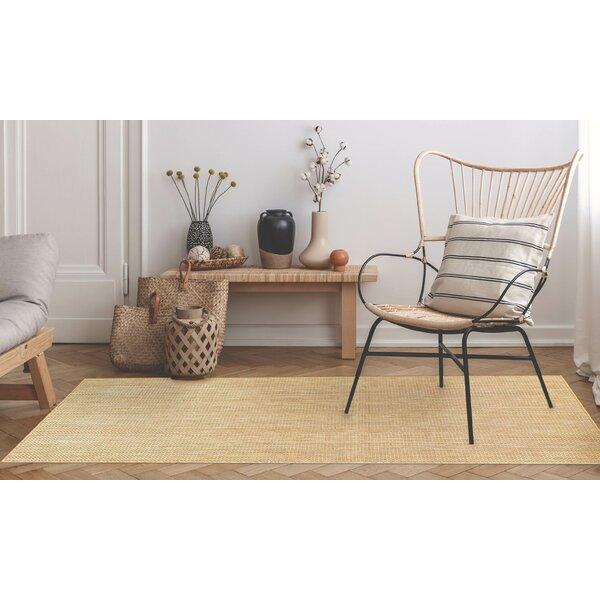 Desantiago Texture Brown Indoor/Outdoor Area Rug By Highland Dunes