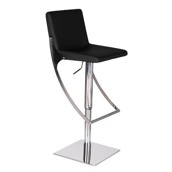 Sonic Adjustable Height Swivel Bar Stool by Bellini Modern Living
