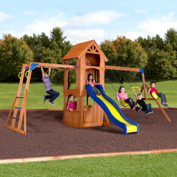 Parkway Swing Set by Backyard Discovery