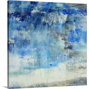 'Summer Storm' by Jill Martin Painting Print on Wrapped Canvas by Great Big Canvas