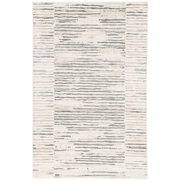 Lizette Ivory Area Rug by Williston Forge