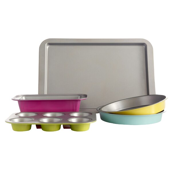 Lyneham 5 Piece Bakeware Set by Gibson