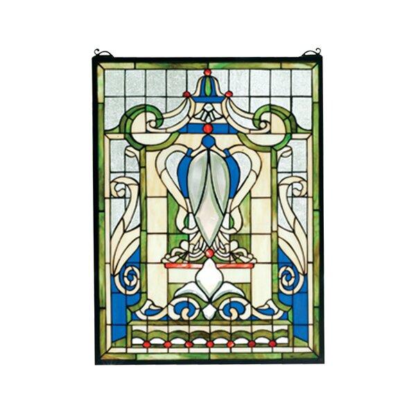 Victorian Royal Windsor Stained Glass Window by Meyda Tiffany