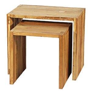 2 Piece Nesting Tables (Set of 2) by Ibolili