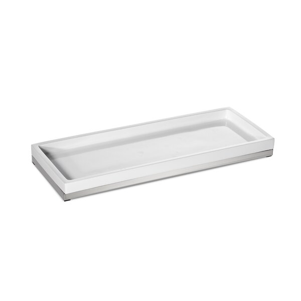 Charlebois Amenity Bathroom Accessory Tray by Orren Ellis