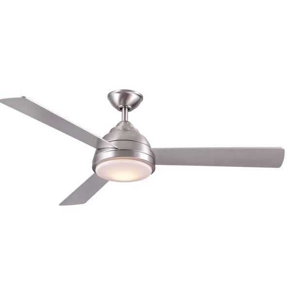52 Celentano 3 Blade LED Ceiling Fan with Remote by Wrought Studio