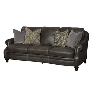 Shantell Leather Sofa By Darby Home Co
