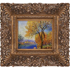 'Antibes, View of Salis' by Claude Monet Framed Painting Print by Fleur De Lis Living