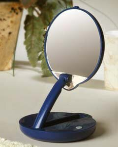 Reviews 15x Lighted Adjustable Compact Mirror By Symple Stuff