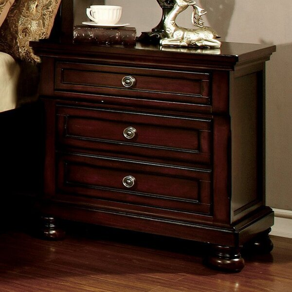 Algoma 3 Drawer Nightstand by Darby Home Co