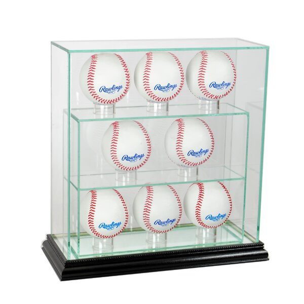 Eight Upright Display Case by Perfect Cases and Frames
