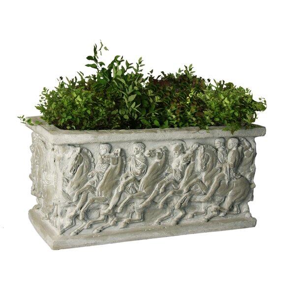 Fiberbtone Planter Box by OrlandiStatuary