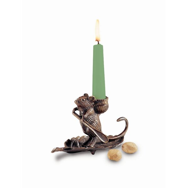 Intrepid Mouse Candle Holder by ACHLA