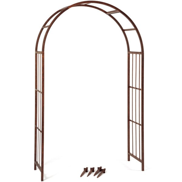 Solera Steel Arbor by Deer Park Ironworks