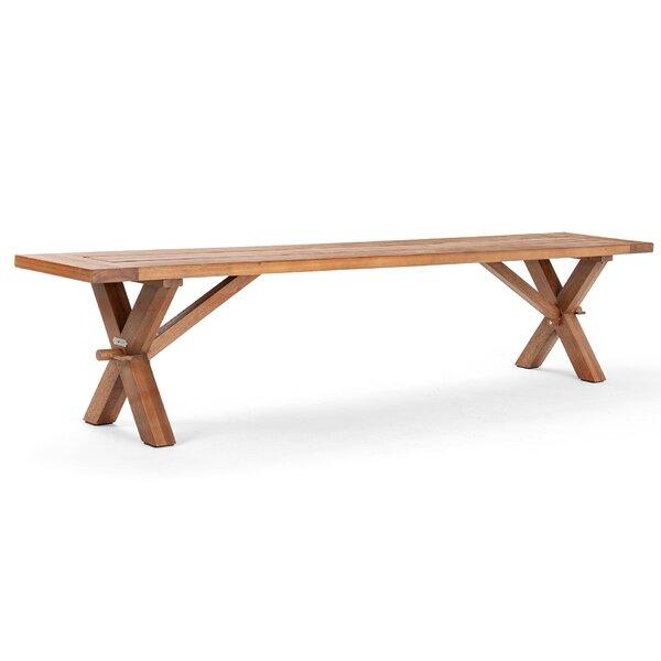 Cumberland Wooden Picnic Bench by La-Z-Boy