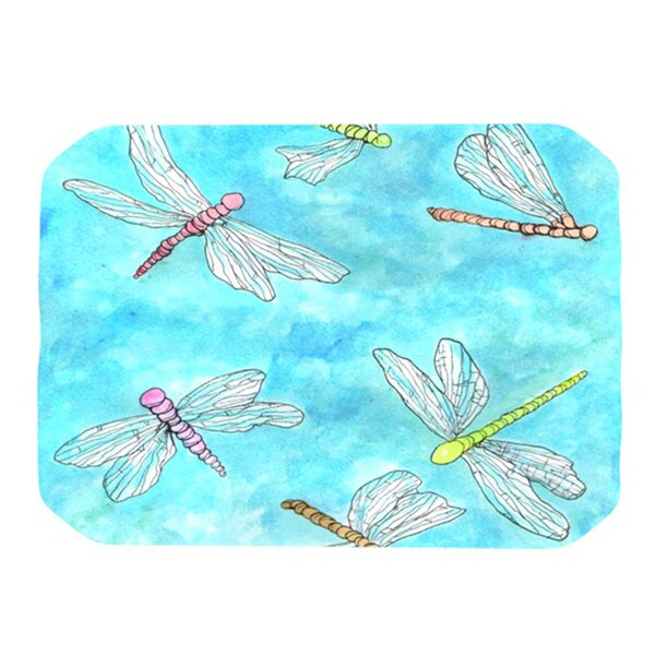 Dragonfly Placemat by KESS InHouse