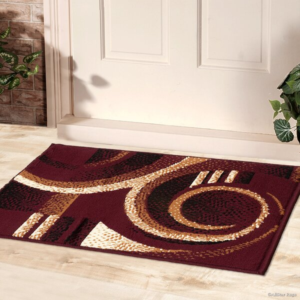 Abstract/Geometric Doormat by AllStar Rugs