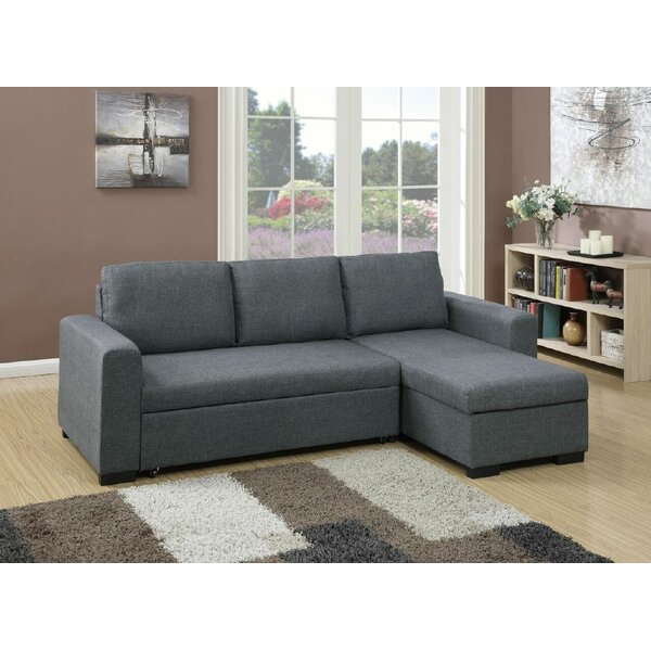 Sleeper Right Hand Facing Sectional by Infini Furnishings