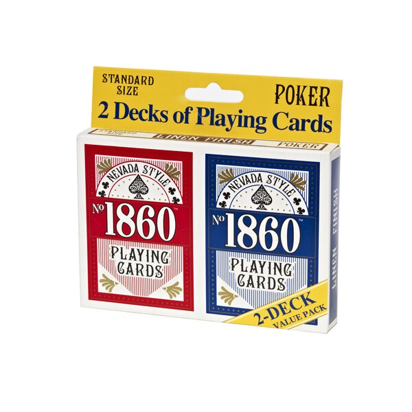 No.1860 Playing Card (Set of 2) by Nevada Style