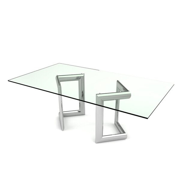Freeman Rectangular Dining Table by Orren Ellis