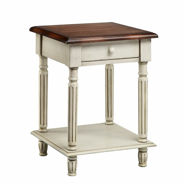 Orrin 1 Drawer End Table by World Menagerie