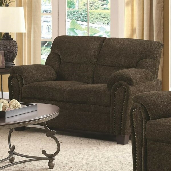 Bethea Transitional Loveseat by Charlton Home