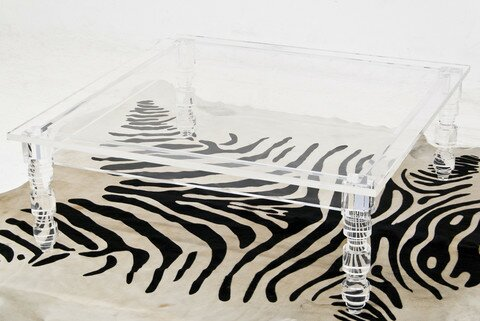 Lucite Coffee Table by ModShop ModShop