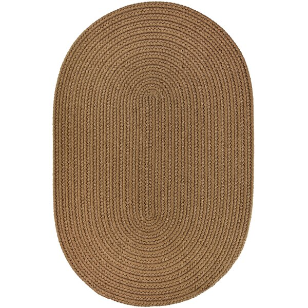 Handmade Light Brown Indoor/Outdoor Area Rug by The Conestoga Trading Co.