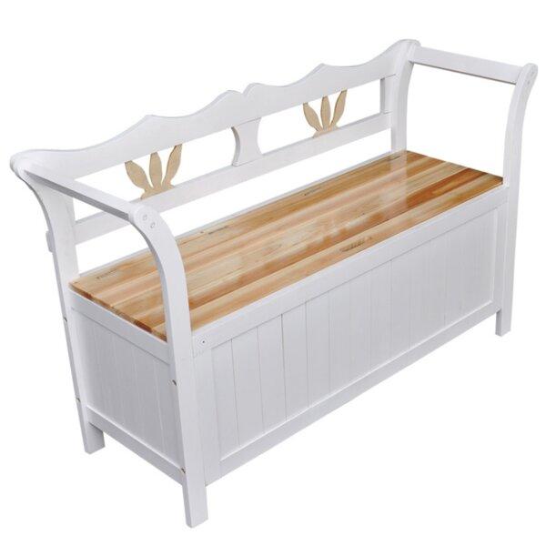 Wood Storage Bench by Ophelia & Co.