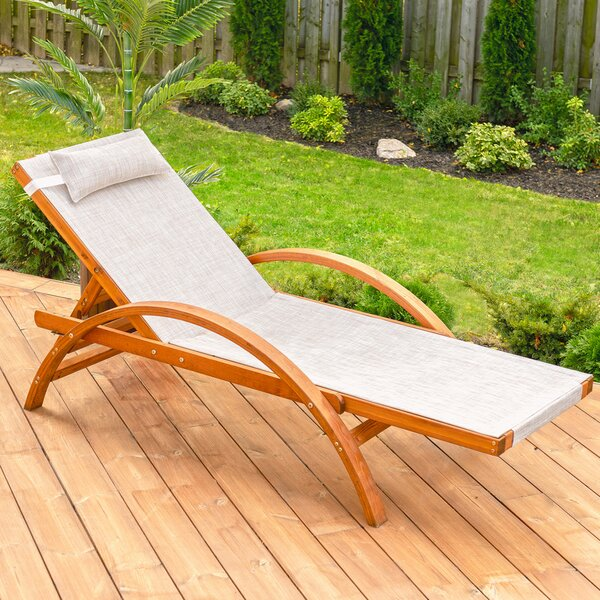 Reclining Chaise Lounge by Leisure Season Leisure Season